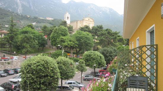 Hotel Alpino: View from our balcony