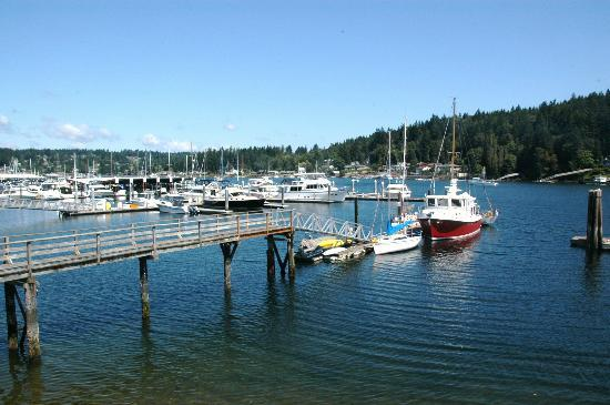 Best Western Wesley Inn & Suites: Gig Harbor view