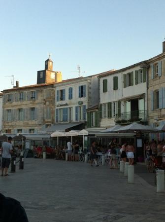 La Poissonnerie du Port : la vue de la terrasse