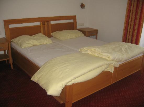 Appartementhaus Salzburgerhof: Slaapkamer