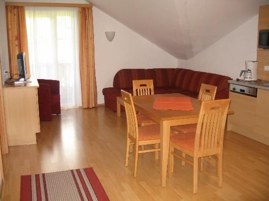 Appartementhaus Salzburgerhof: Zithoek
