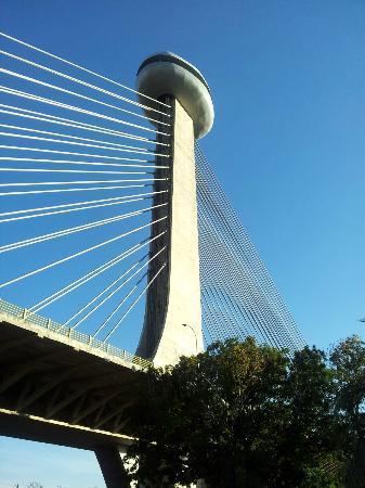 Teresina, PI: Vista da ponte, do chão.