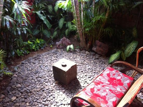 Flashback's: Patio outside room 2