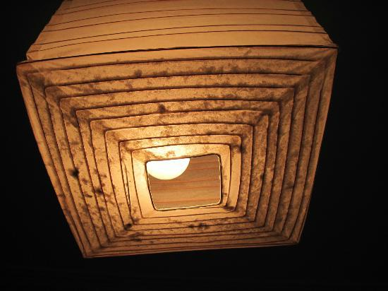 Seahaven House: Layers of dust in lampshade