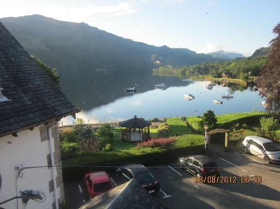 Ardlui Hotel: View from our window