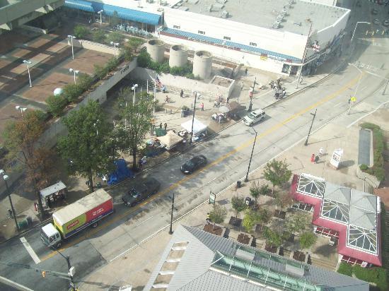 فيرفيلد إن آند سويتس أتلانتا داون تاون: 12th floor view 