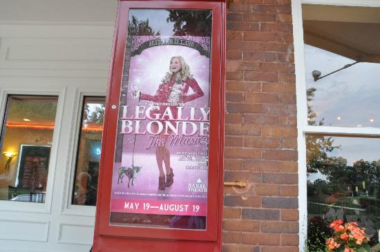 Barter Theatre: Legally Blonde was the show