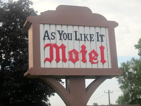As You Like It Motel: We like it!