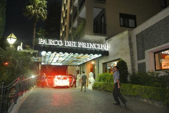 Parco dei Principi Grand Hotel & SPA: Hotel front
