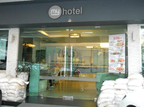 myhotel Pratunam: hotel entrance