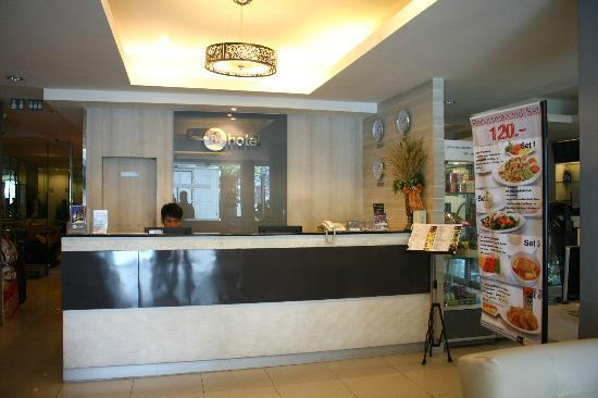 myhotel Pratunam: reception