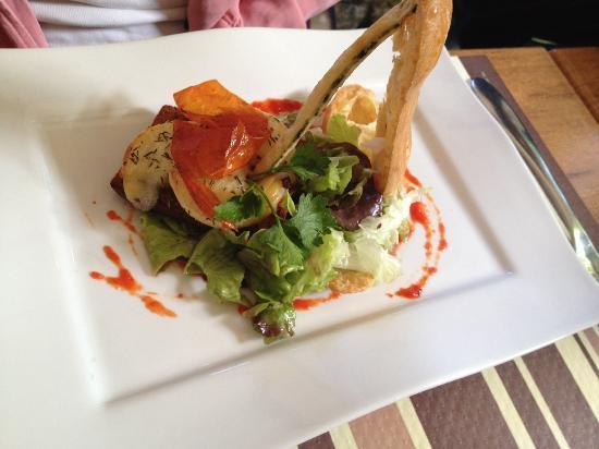 Couleurs Cafe: Salade