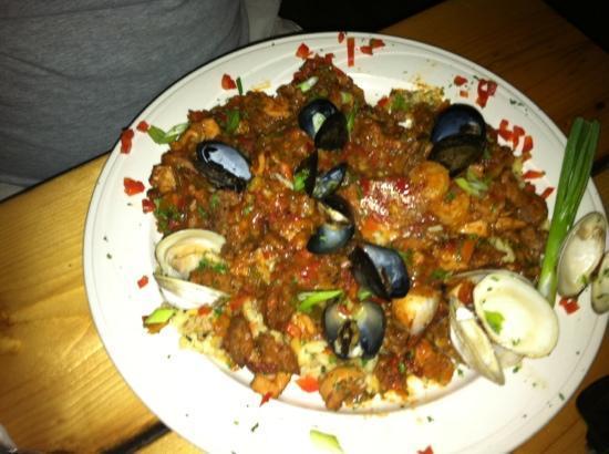 Avalon Anchorage Marina: Jambalya-filled with fresh seafood. amazing!!!