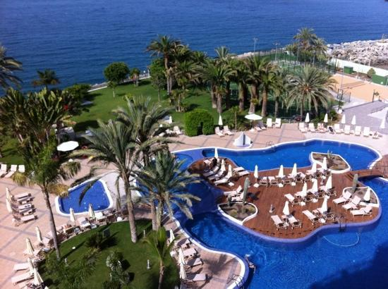 Radisson Blu Resort, Gran Canaria: View from balcony