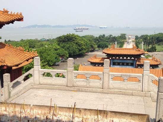Panyu Nansha Tianhou Palace: View from top level