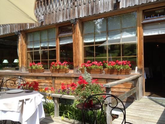 Le Jeu de Paume: terrasse du restaurant