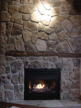 Legends: Fireplace in room