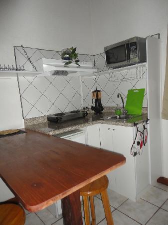 Dai Nonni Hotel: cocineta de la suite