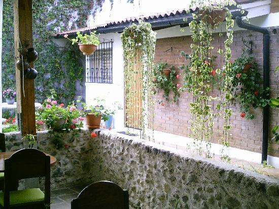 Dai Nonni Hotel: jardin