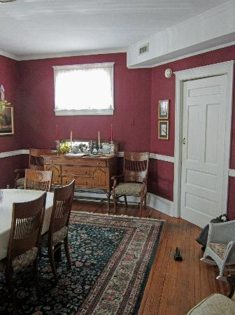 ‪‪Victorian Lace Inn‬: Dining Room
