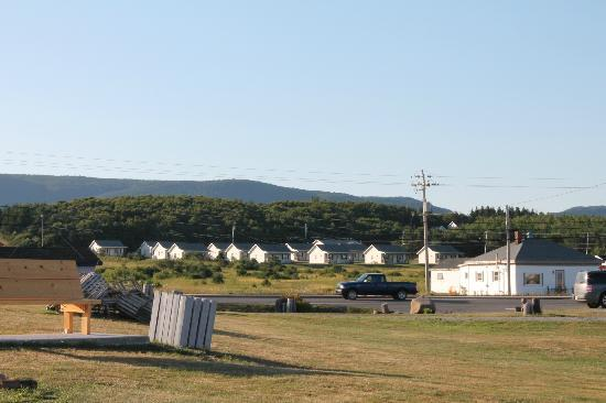 Ocean View Motel & Chalets: Road view