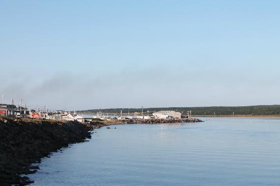 Ocean View Motel & Chalets: Waterview