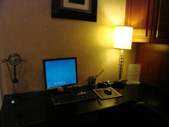 Hampton Inn Washington-Dulles Int'l Airport South: Very good internet