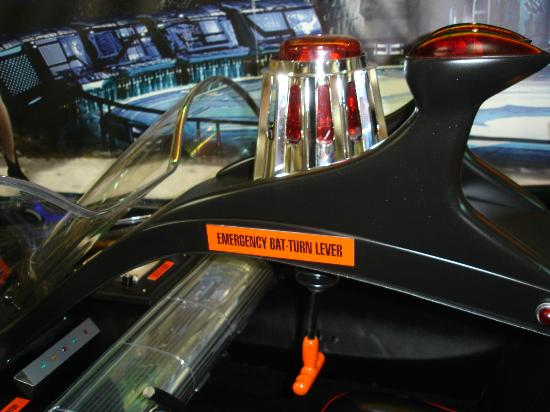 ‪‪Volo Auto Museum‬: What's a Batmobile without an Emergency Bat-Turn Lever?