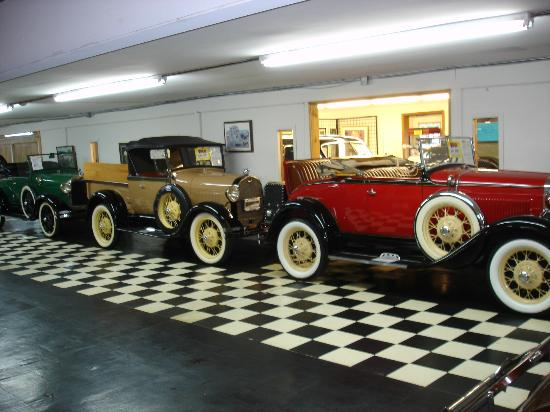 Volo Auto Museum: Some of the older vehicles for sale.