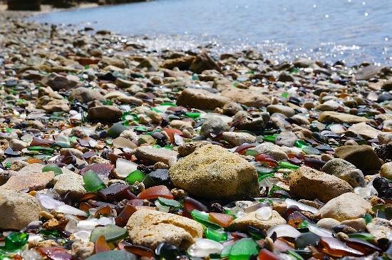 Hamilton, Islas Bermudas: Sea Glass everywhere!!