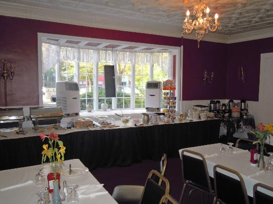 Tunnicliff Inn: Salón para Desayunar