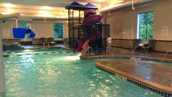 Holiday Inn Express & Suites Columbus-Polaris Parkway: Pool was even better than expected