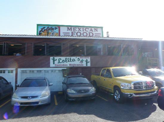 Lolita's: Exterior - Restaurant is on 2nd floor