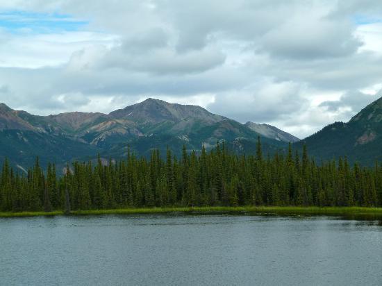 McKinley Explorer: Some of the mountains near Denali NP