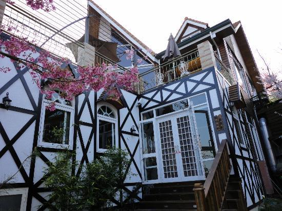 Cingjing Vienna Pleasance Cottage: 餐廳入口