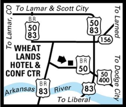 New Sunflower Inn & Suites: Regional Map
