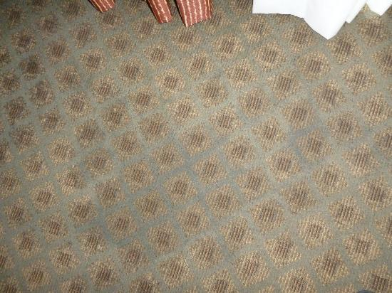 Holiday Inn Express Clearwater East - ICOT Center : Carpet soaked from leaking aircon