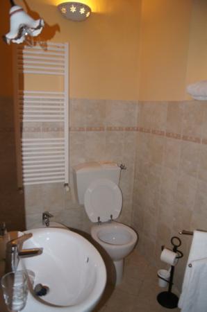 B&B il Giglio Etrusco: il bagno in camera