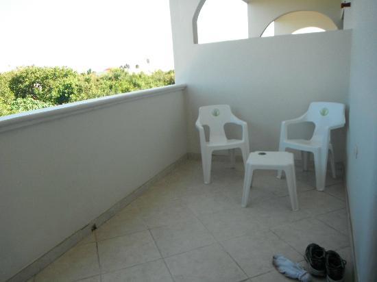 Villas Coco Resort: our big balcony