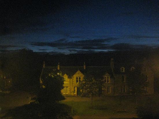 Grant Arms Hotel: A view from the hotel (at 11:00 p.m.!)
