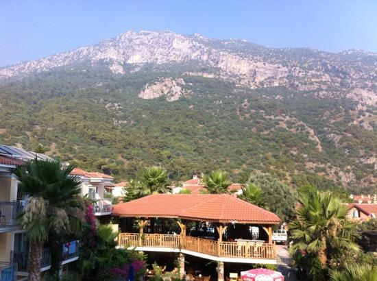 Villa Beldeniz: view from room 605