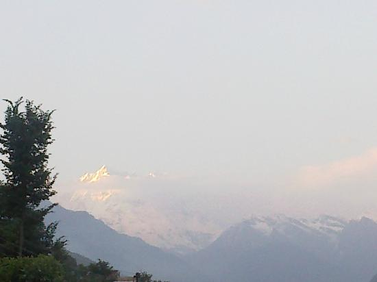 Guptkashi, India: View from terrace