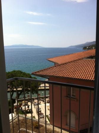 Amadria Park Hotel Milenij: view from a non sea view room.