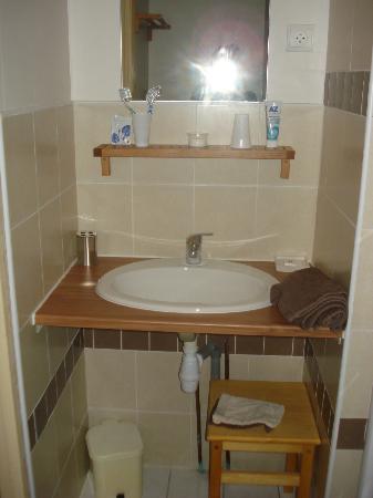 Manoir de la Grande Mettrie: Bagno camera