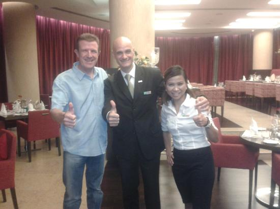 Holiday Inn Abu Dhabi: ANTONIO FERNANDEZ,MEGA AND ME.