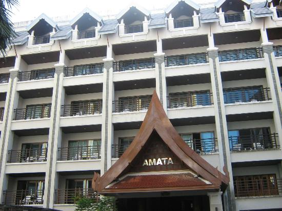 Amata Patong: view from front