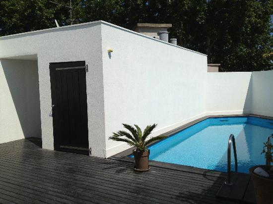 Le Jardin des Sens: private pool!