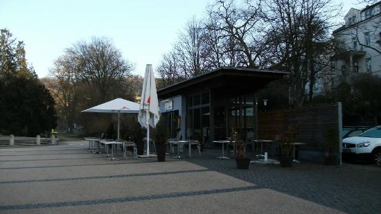 Nerotal-anlagen: Eden cafe at the end of the Nerotal