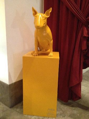 Le Jardin des Sens: Love this sculpture