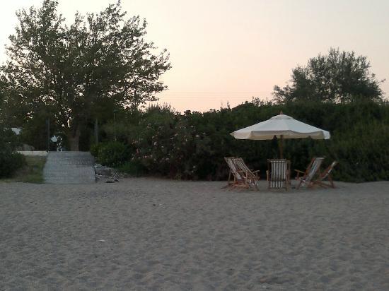 Niriides Hotel: Beach